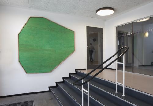 Indgangsparti, Esbjerg Politigård.